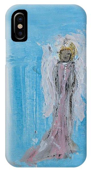 Tiny Angel IPhone Case