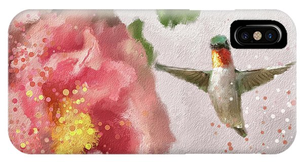 Peony iPhone Case - Tiny Dancer by Lois Bryan