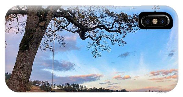 Tire Swing Tree IPhone Case