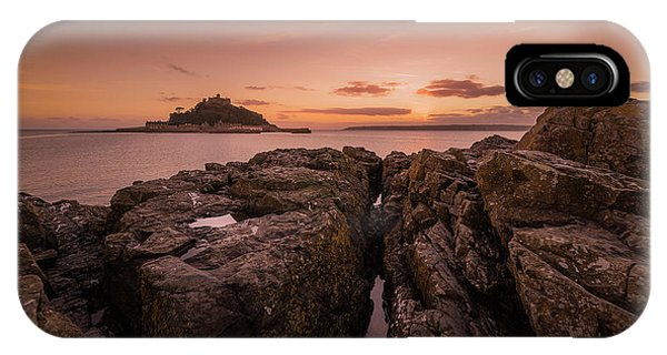To The Sunset - Marazion Cornwall IPhone Case