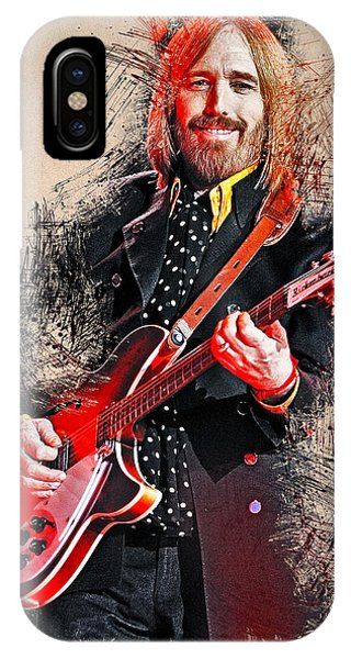 Tom Petty - 35 IPhone Case