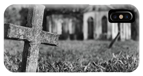 Tombstone, St. Chad's, Trinidad IPhone Case