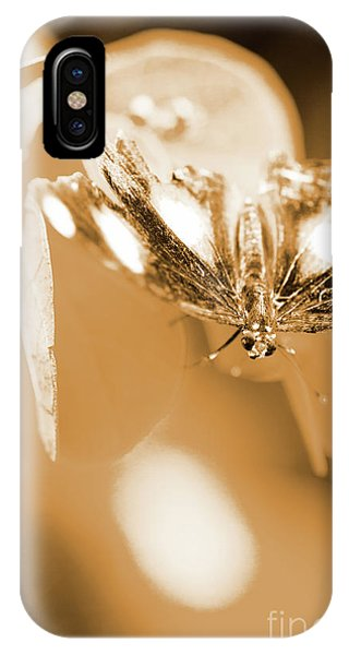 Moth iPhone Case - Toned Tropics by Jorgo Photography - Wall Art Gallery