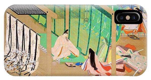 Palace iPhone Case - Top Quality Art - Konjaku Story-isezu by Matsuoka Eikyu