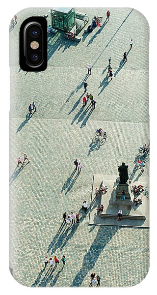 Historic House iPhone Case - Top View Of  Neumarkt Square In by Joyfull