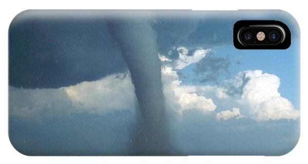Oklahoma iPhone Case - Tornado And Large Hail Near The by Todd Shoemake