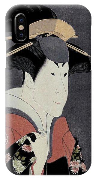 Oyama iPhone Case - Toshusai Sharaku -copy-, Tsutaya Juzaburo / 'the Actor Segawa Tomisaburo II', 1794, Japanese School. by Tsutaya Juzaburo -1750-1797- Toshusai Sharaku -fl 1794-1795-