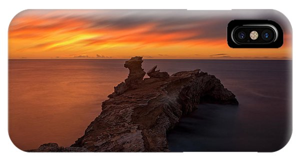 Total Calm At A Sunrise In Ibiza IPhone Case
