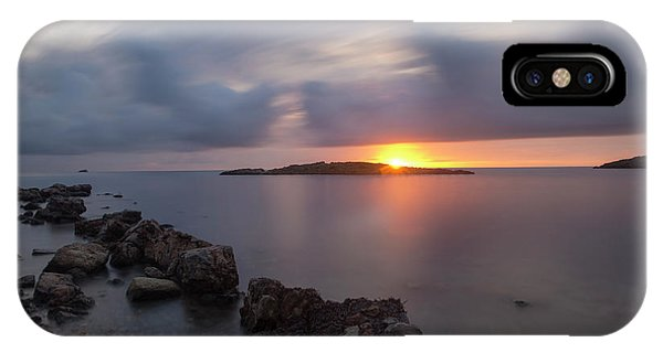 Total Calm In An Ibiza Sunrise IPhone Case