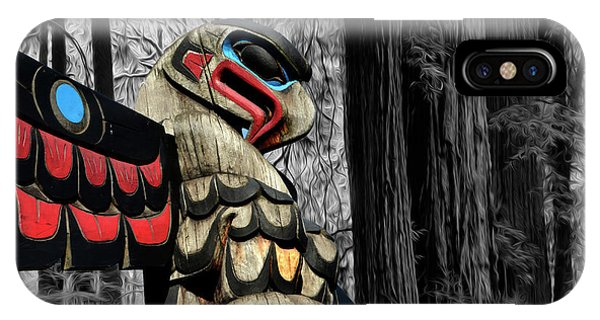 iPhone Case - Totem Of The Forest by Bob Christopher