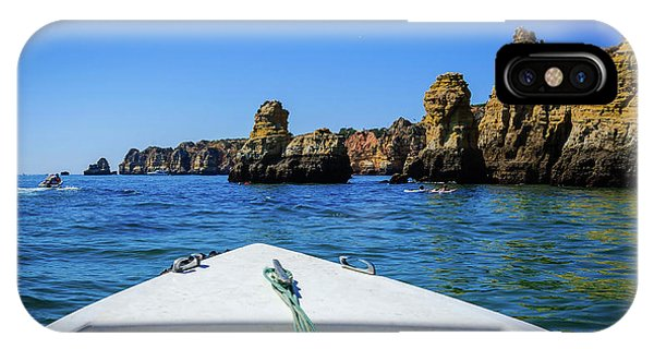 Towards The Cliffs IPhone Case