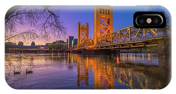 Tower Bridge At Sunrise - 4 IPhone Case