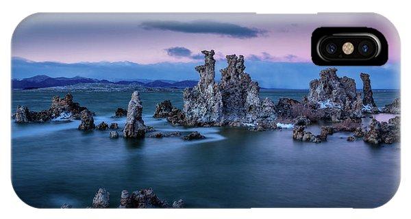 Sierra Nevada iPhone Case - Towers Of Tufa by Dan Holmes