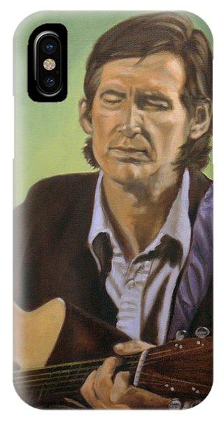 Townes Van Zandt IPhone Case