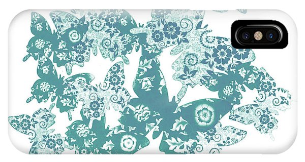 Moth iPhone Case - Traces Of Patterned Beauty by Jorgo Photography - Wall Art Gallery