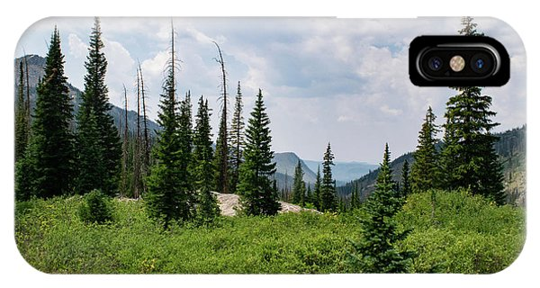 Trail To Gilpin Lake IPhone Case