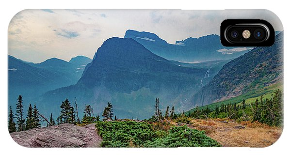 IPhone Case featuring the photograph Trail To Grinnell Glacier by Lon Dittrick