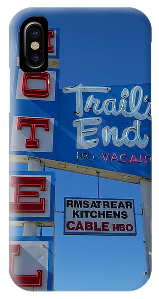 Trail's End Motel IPhone Case