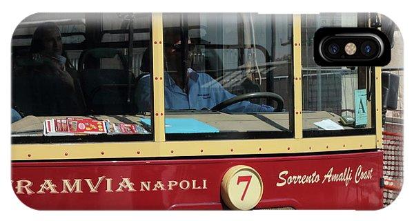Tram Naples IPhone Case