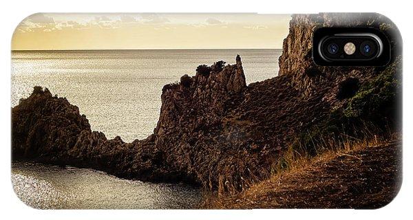 Tranquil Mediterranean Sunset    IPhone Case