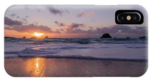 Carribbean iPhone Case - Tranquility Coastal Sunrise by Betsy Knapp