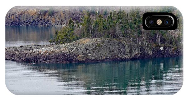 Tranquility In Silver Bay IPhone Case