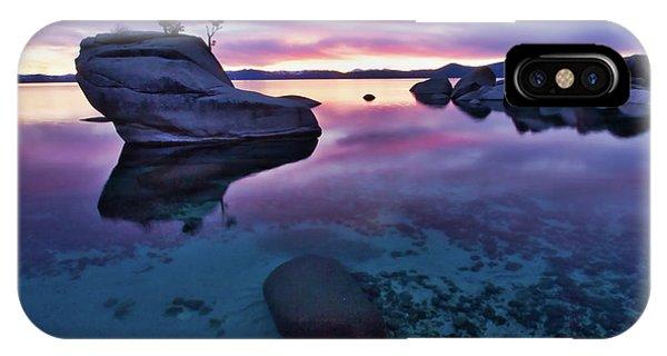 Transparent Sunset IPhone Case