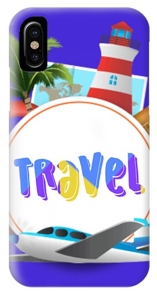 iPhone Case - Travel World by Ize Barbosa DIAMOND IS FOREVER