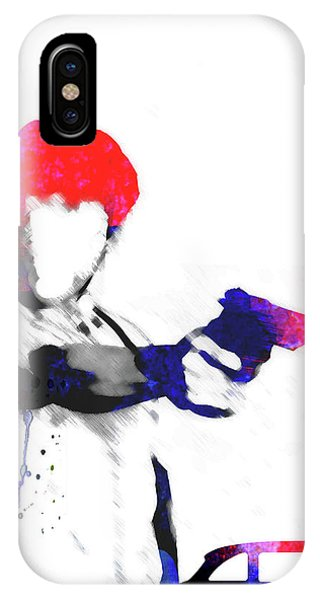 Film iPhone Case - Travis Watercolor by Naxart Studio