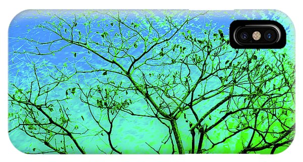 Tree And Water 3 IPhone Case