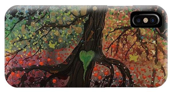 Tree Of Life Chakra Tree IPhone Case