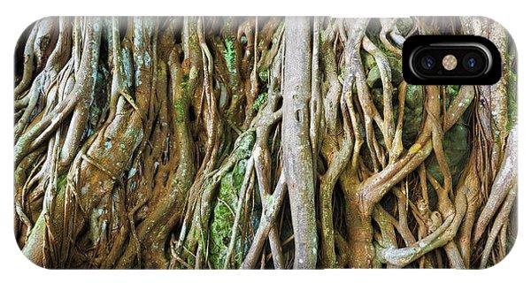 Tree Roots, Onomea Bay, Hamakua Coast Phone Case by Russ Bishop