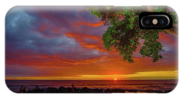 Tree  Sea And Sun IPhone Case