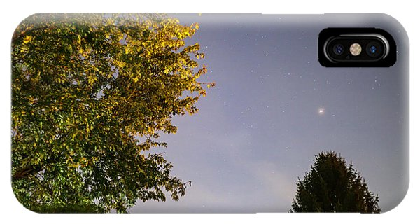 Trees And Stars IPhone Case