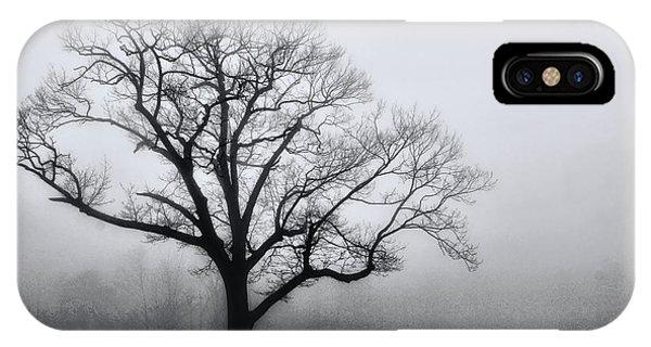Trees In Fog # 2 IPhone Case