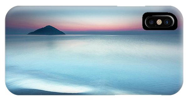Greece iPhone X Case - Triangle Island by Evgeni Dinev