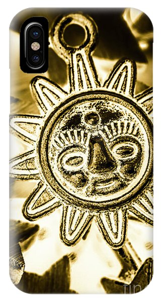 Pendant iPhone Case - Tribal Suns  by Jorgo Photography - Wall Art Gallery