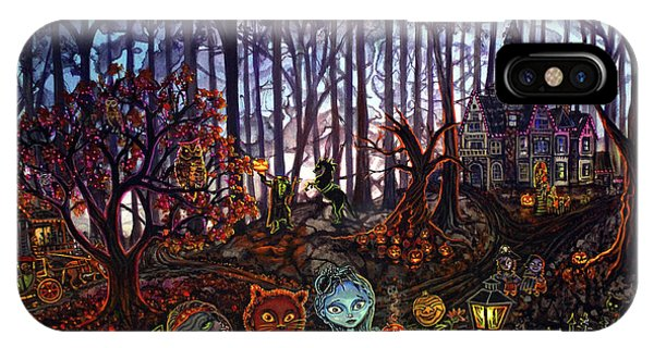 Trick Or Treat Sleepy Hollow IPhone Case