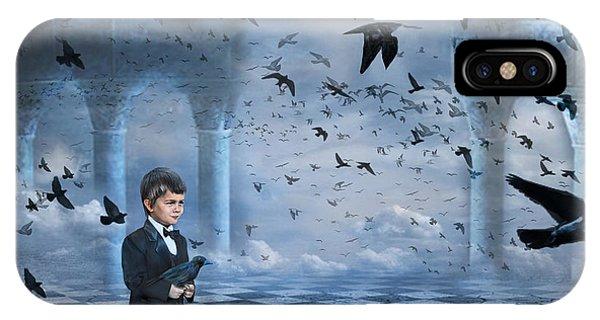 Tristan's Birds IPhone Case