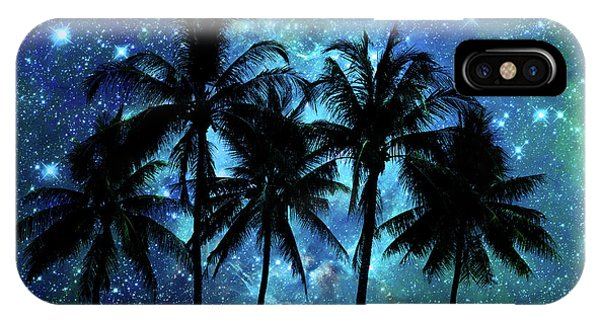 Well Being iPhone Case - Tropical Night by Delphimages Photo Creations