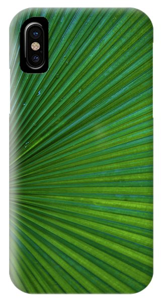 iPhone Case - Tropical Leaf by Emily Johnson