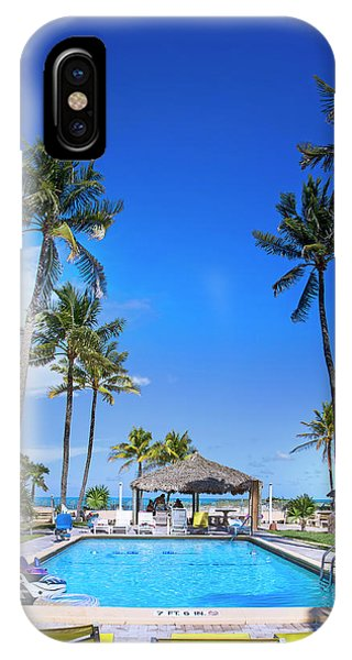 Tiki Bar iPhone Case - Tropical Vacation by Mark Andrew Thomas