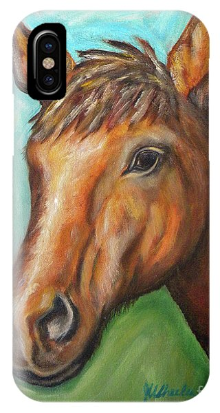 Wheeler Farm iPhone Case - Trotter by JoAnn Wheeler