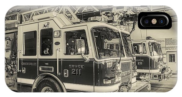 Truck And Engine 211 IPhone Case