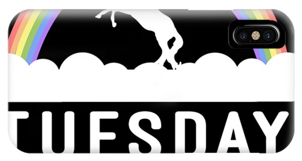 IPhone Case featuring the digital art Tuesday by Flippin Sweet Gear