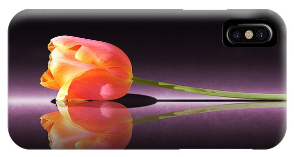 Tulip Reflection IPhone Case