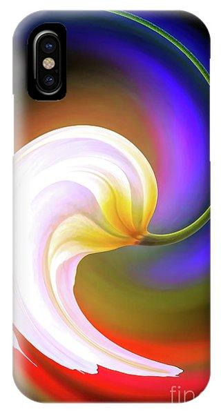 Tulip Twirl IPhone Case