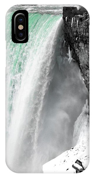 Turquoise Falls IPhone Case