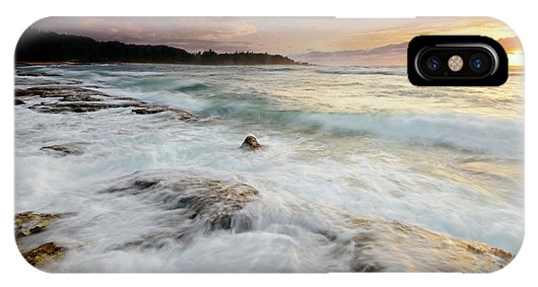 Oahu iPhone Case - Turtle Bay Sundown by Mike Dawson