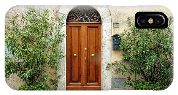 Tuscan Door IPhone Case